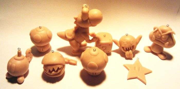 31 Super Mario Brothers Characters (unpainted) by CabbitCastle