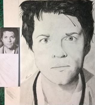 Supernatural - Castiel by The-Curtis