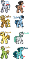 [CLOSED] - Ponies Batch 2 by Featheries