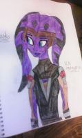 Naoko (new Star Wars oc) by VaderNihilus