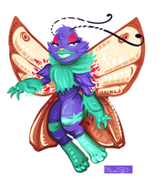 Rosie the Butterfree by CaramelFrog