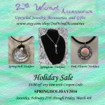 Spring Holiday Coupon Code Flyer by 2ndWindAccessories