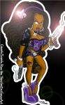 Chante from Saints Row by DeVanceArt