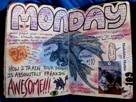 HtTYD Journal Page by Madelei