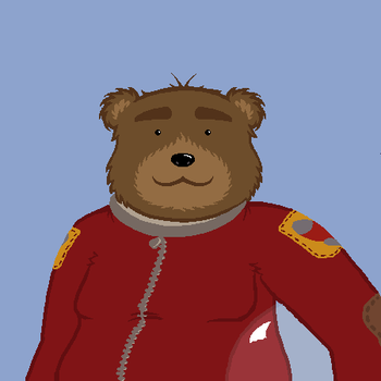 Spacebear by 1spacebear