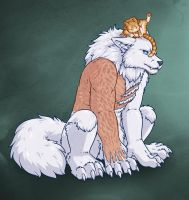 Vasily and Cat by Sorien