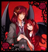 [REQUEST] Astaroth and Andariel by MimiChan25