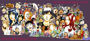 the horror world of Junji by shigeyan