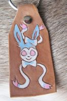 Shiny Sylveon key chain by CindarellaPop