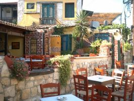 Greek taverna by papadimitriou