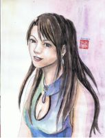 Tifa- surprise gift by Aquarina12