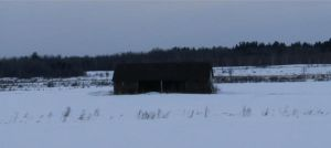 Old Shed In The Country-Winter by hilliard