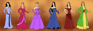 Costume designs 7 by Berende