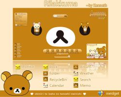 Rilakkuma for xWidget by kenneth117 by kenneth117