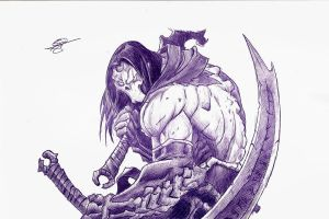 Death Darksiders 2 by BORJICH