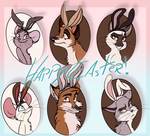 Happy Easter by MilGoncalez