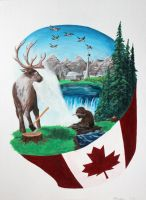 Oh Canada! by MGabric