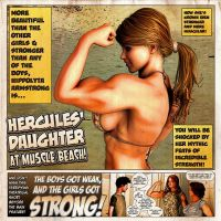 Hercules' Daughter At Muscle Beach! by Lingster