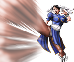 Chun Li colors by Claret821021
