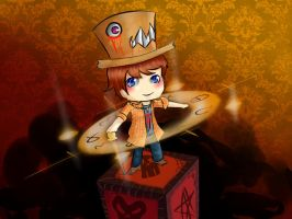 Chibi Mad Hatter by Shadeo