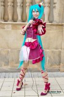 Miku Hatsune ~ Romeo and Cinderella (Project Diva) by CupcakeStar-Xx