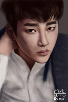 Seo In Guk Fan Art by S-Mikki