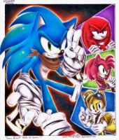 Contest:: + Happy Birthday Sonic! + YEAR OF SONIC by ClassicMariposAzul