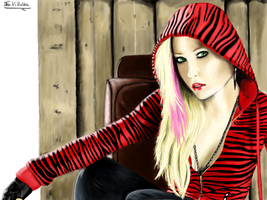 Fan Art of Avril Lavigne by FcoVillalba