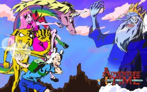 Gainax Takes on Adventure Time by Darkfire-JD
