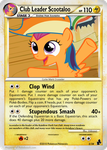 Club Leader Scootaloo by dmon2