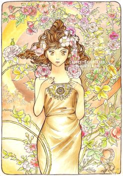 Rose by Mucha by only-thi