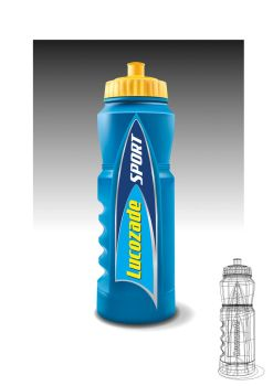 Lucozade Sport Bottle by FarawayPictures