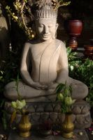 Buddha Statue by FalconNL