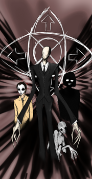Slenderman Mythos by SeanSumagaysay