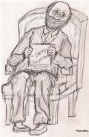 Man In Chair by RascalRoy