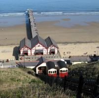 Saltburn Tramway and Pier by smallsofthamish