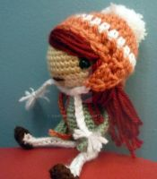 Winter Girl Amigurumi doll by AAMurray