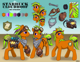 Tinkerer Starbuck Cloudhoof Reference (Simple) by StarbuckCloudhoof