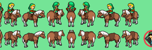 Link with Epona BIS styled by tebited15