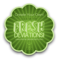 Fresh Deviations Template by shanahben
