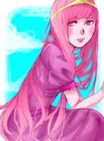 Princess Bubblegum . by jyuce