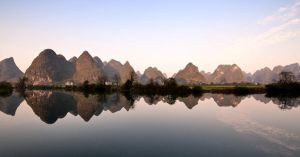 Yangshuo with Dusk by Tenbult