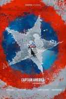 Captain America: The First Avenger (2011) poster by le0arts