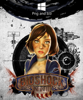 Bioshock Infinite Icon by nemanjadmitrovic