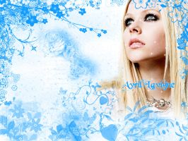Avril Lavigne wallpaper -5 by Zeldahyrule