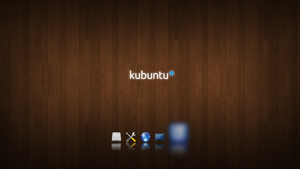 Kubuntu Wood by Hyarmenadan