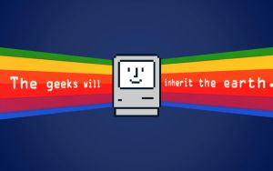 The APPLE Geeks Will Inherit the Earth by LindsayCookie