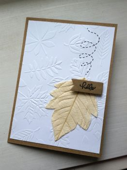 greeting card - hello leaves by inconsistentsea