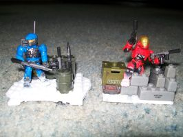 Halo Mega Bloks Target ARmory packs 2 by blackout17