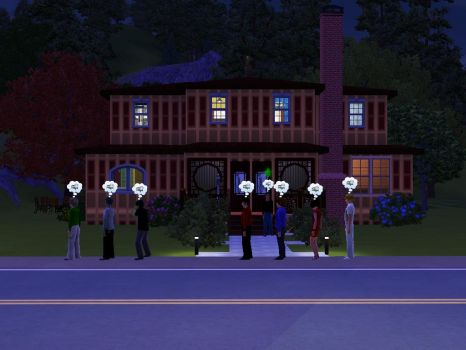 Ninjago-The Sims 3 A NEW HOUSE!!! by dnyco